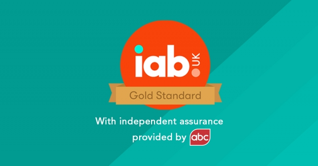 IAB Gold Standard press release image