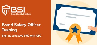 Become an accredited Brand Safety Officer with our special discount offer