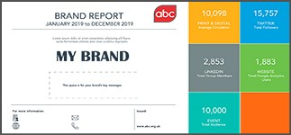 Google Analytics metric now included on ABC Brand Reports